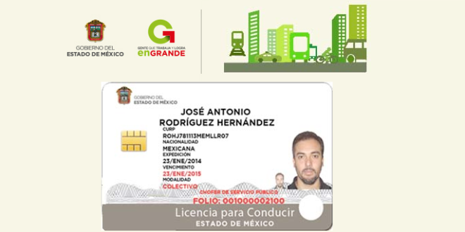 Licencia De Conducir Digital: La Licencia De Conducir Del Estado De México